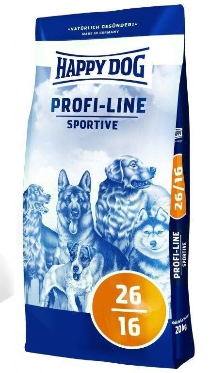 Happy Dog Profi-Line Krokette 26/16 Sportive 20kg + DOPRAVA ZDARMA
