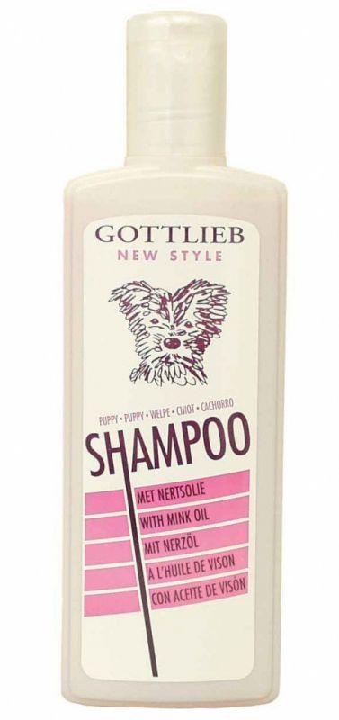 Gottlieb šampon s nork. olejem 300ml štěně