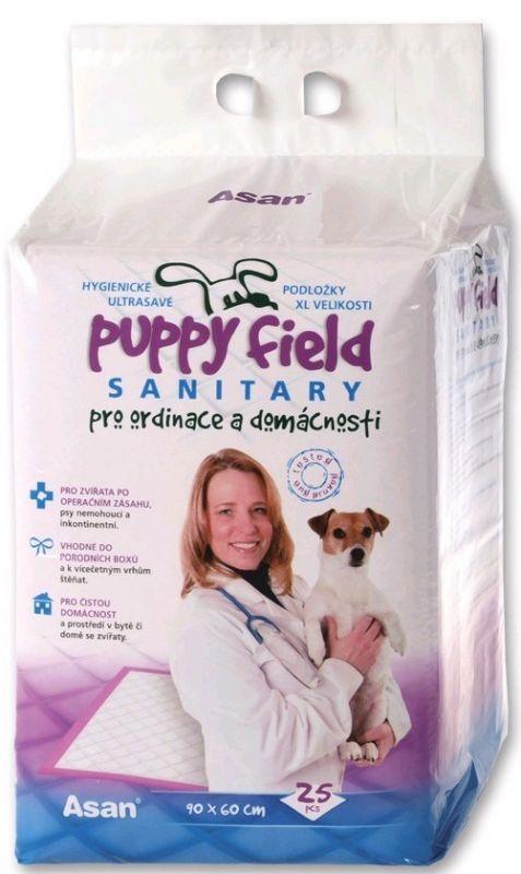 Tommi Podložka Puppy Field Sanitary 90x60cm 25ks