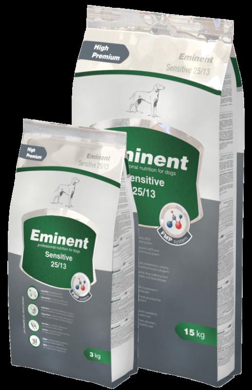 Eminent Dog Sensitive 15 kg + 2kg zdarma