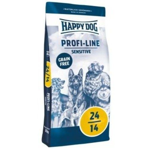 Happy Dog Profi-Line 24/14 Sensitive Grainfree 20kg + DOPRAVA ZDARMA
