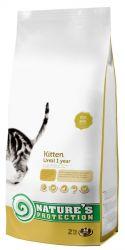 Zobrazit detail - Natures Protection Cat Kitten 2kg + ZDARMA 1x pamlsek Araton Snack Cat