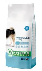Nature's Protection Dog Medium Adult 12kg + DOPRAVA ZDARMA Nature´s Protection