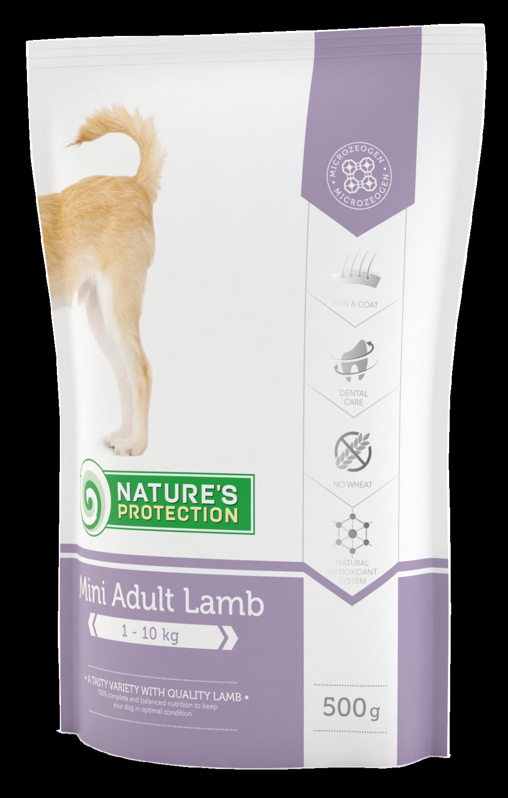 Nature's Protection Dog Mini Adult Lamb 500g
