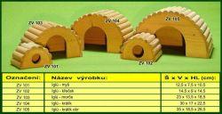 Zobrazit detail - IGLU domek S pro myšku TRIXIE