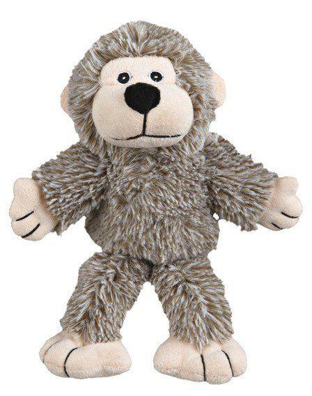 Trixie Plyšová opička se zvukem, šedá 24 cm TRIXIE