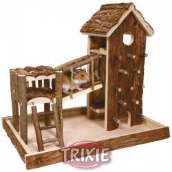 Zobrazit detail - Dřevěné hřiště BIRGER 36x33x26cm TRIXIE