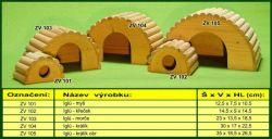 Zobrazit detail - IGLU domek L pro morče TRIXIE
