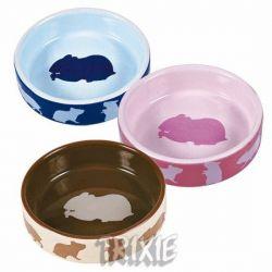 Keramická miska pro křečky barevná 80 ml/8 cm TRIXIE