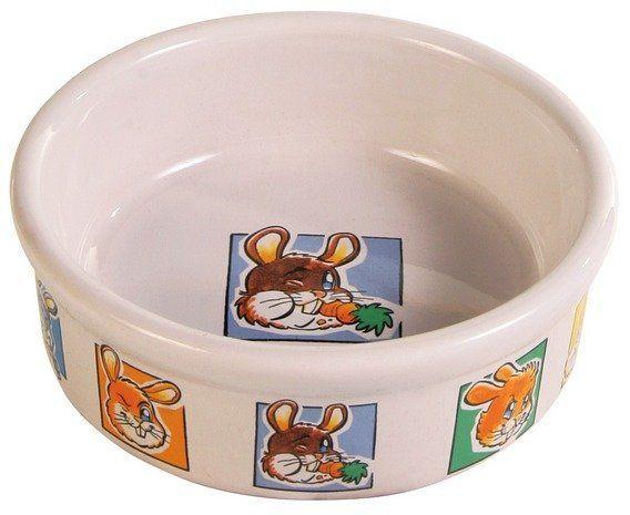 Trixie Porcelánová miska králík 300ml/11cm TRIXIE