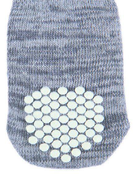 Trixie Protiskluzové šedé ponožky, 2 ks pro psy M-L (zl.retrívr) TRIXIE