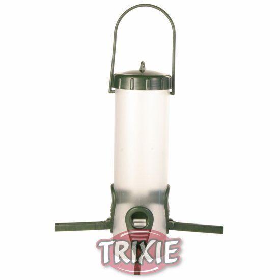 Trixie Zahradní závěsné automatické krmítko 4 otvory 450ml/23cm TRIXIE