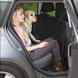 Zobrazit detail - Autopotah za zadní sedadla 1,45x1,60m - černý TRIXIE