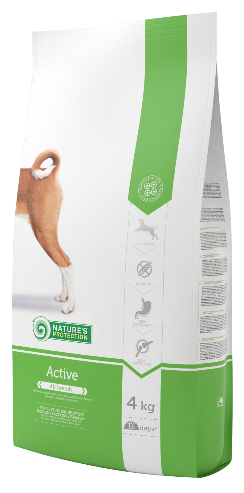 Nature's Protection Dog Active 4kg + DOPRAVA ZDARMA