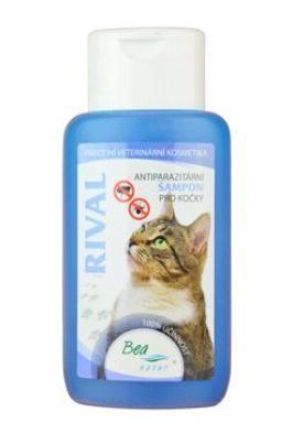 BEA natur, s.r.o. Šampon Bea Rival antiparazitární kočka 220ml