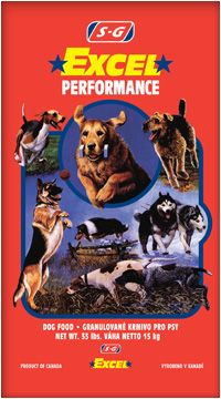 Shurgain Dog Excel Performance 15 kg