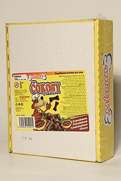 Mlsoun čokosy čokoládové 100ks Tommi