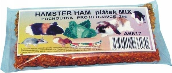 Delika-Pet hamster ham mix 1ks