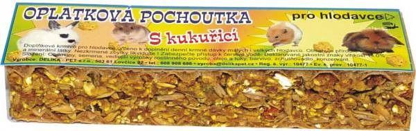 Delika-Pet pochoutka musli s kukuřicí