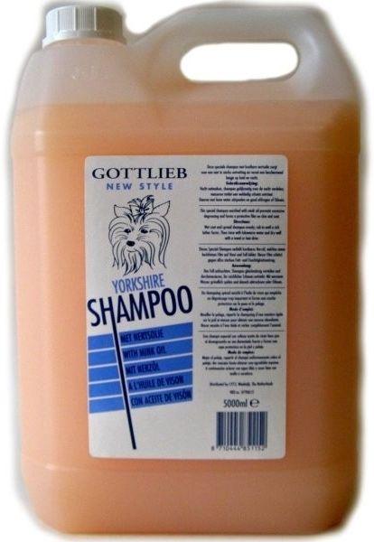 Gottlieb Yorkshire šampon vaječný s nork.olejem 5l
