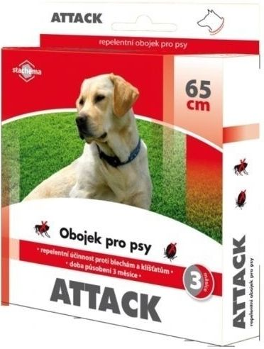 Attack obojek antiparazitární 65cm pes Stachema CZ s.r.o.