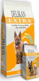Delikan Extra Dog 15 kg