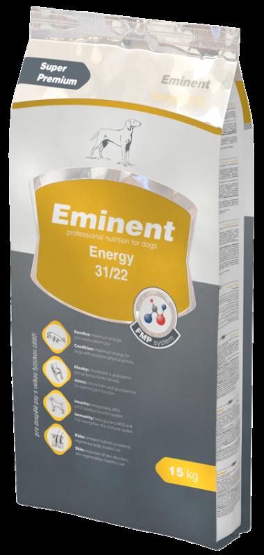 Eminent Dog Energy 15 kg + 3kg zdarma