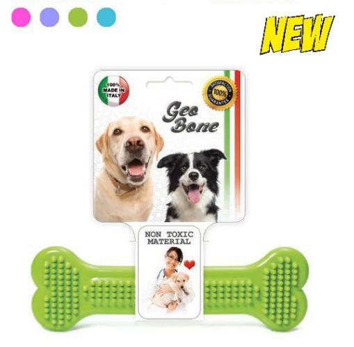 Hračka pro psy GEO BONE 1 SIERA - Plast