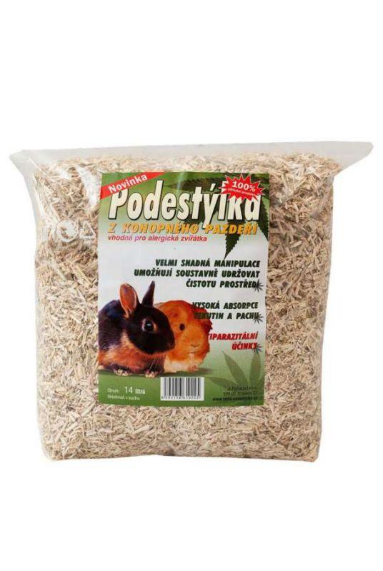 KONOPNÁ PODESTÝLKA 14L JLP product