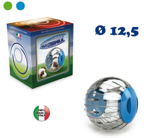 Koule na cvičení pro malé hlodavce TWISTERBALL MINI průměr 12,5cm SIERA - Plast
