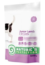 Nature's Protection Dog Junior Lamb 500 g - expirace 8/2017