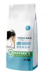 Nature's Protection Dog Medium Adult 4 kg + DOPRAVA ZDARMA Nature´s Protection
