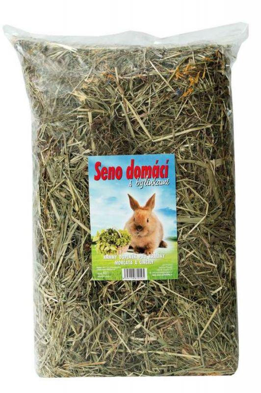 Seno domácí s bylinkami 40l JLP product