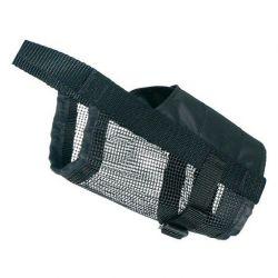 TRIXIE Náhubek nylonový se síťkou, polyester, černý S (jack rusell)