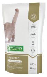 Nature's Protection Cat Neutered 400 g