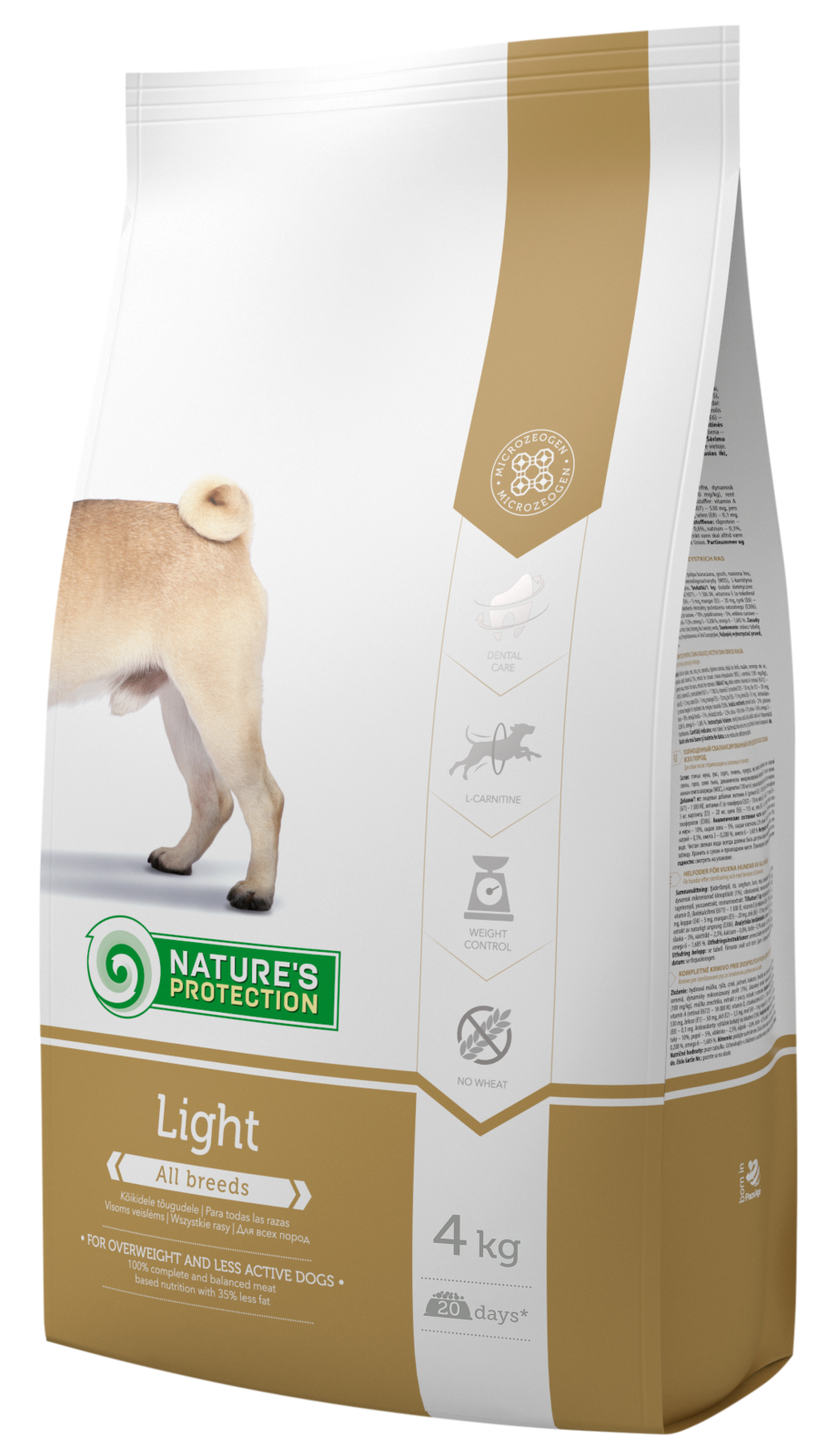 Natures Protection Dog Light 4kg Nature´s Protection