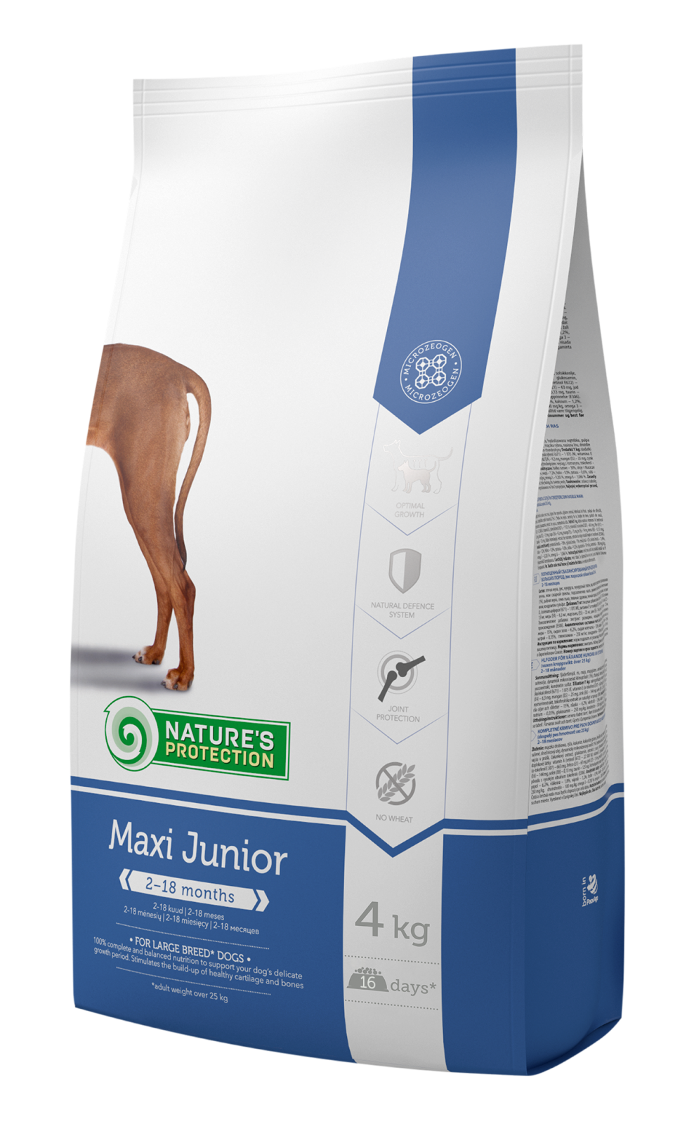 Natures Protection Dog Maxi Junior 4kg Nature´s Protection