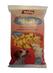 Piškoty TOBBY pro psy MINI 120g