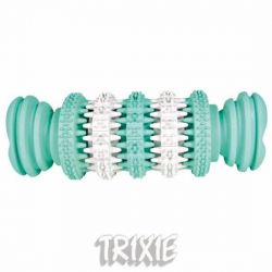 TRIXIE DENTAfun kost s mátou zeleno/bílá 15cm