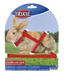 TRIXIE Nylonový postroj a vodítkem na králíčka