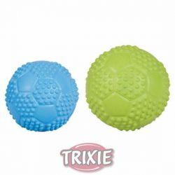 Sportovní míč z tvrdé gumy se zvukem 7 cm TRIXIE