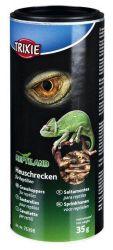 Trixie Sušené kobylky luční, krmivo pro plazy 250 ml / 35g