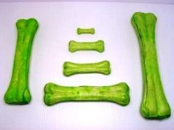 Kost buvolí zelená 21 - 22cm