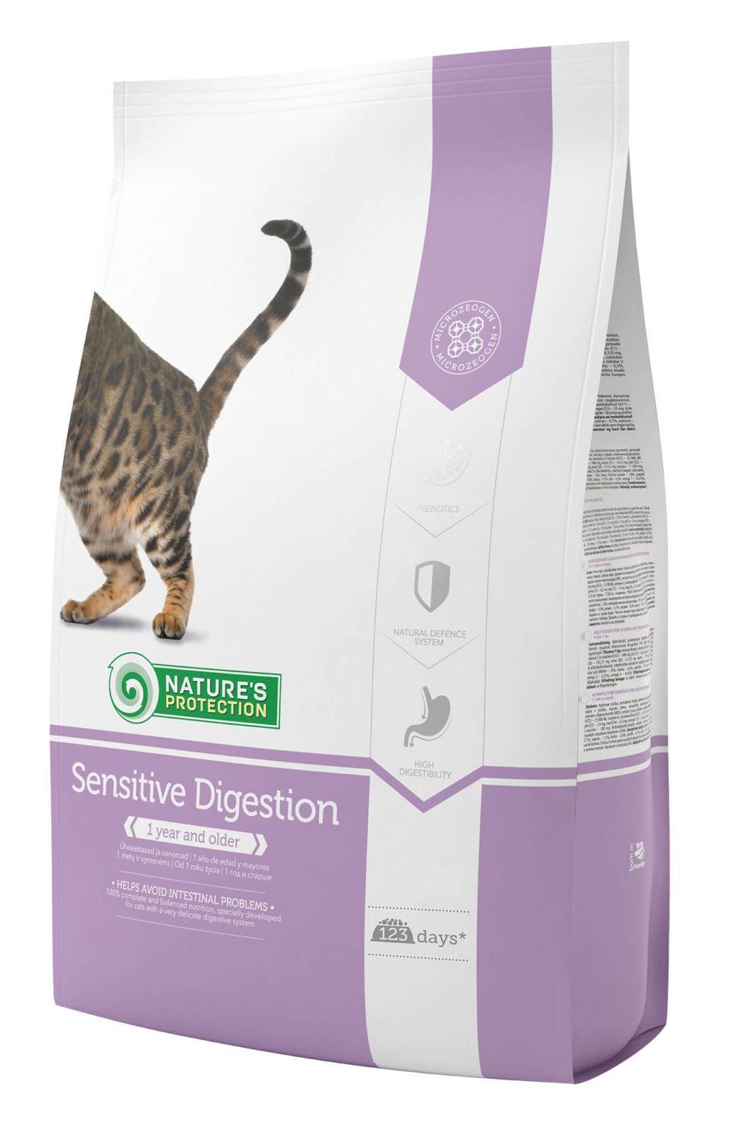 krmivo pro kočky s citlivým zažíváním
