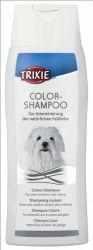 TRIXIE Šampon Color tónovací bílá srst pes 250 ml