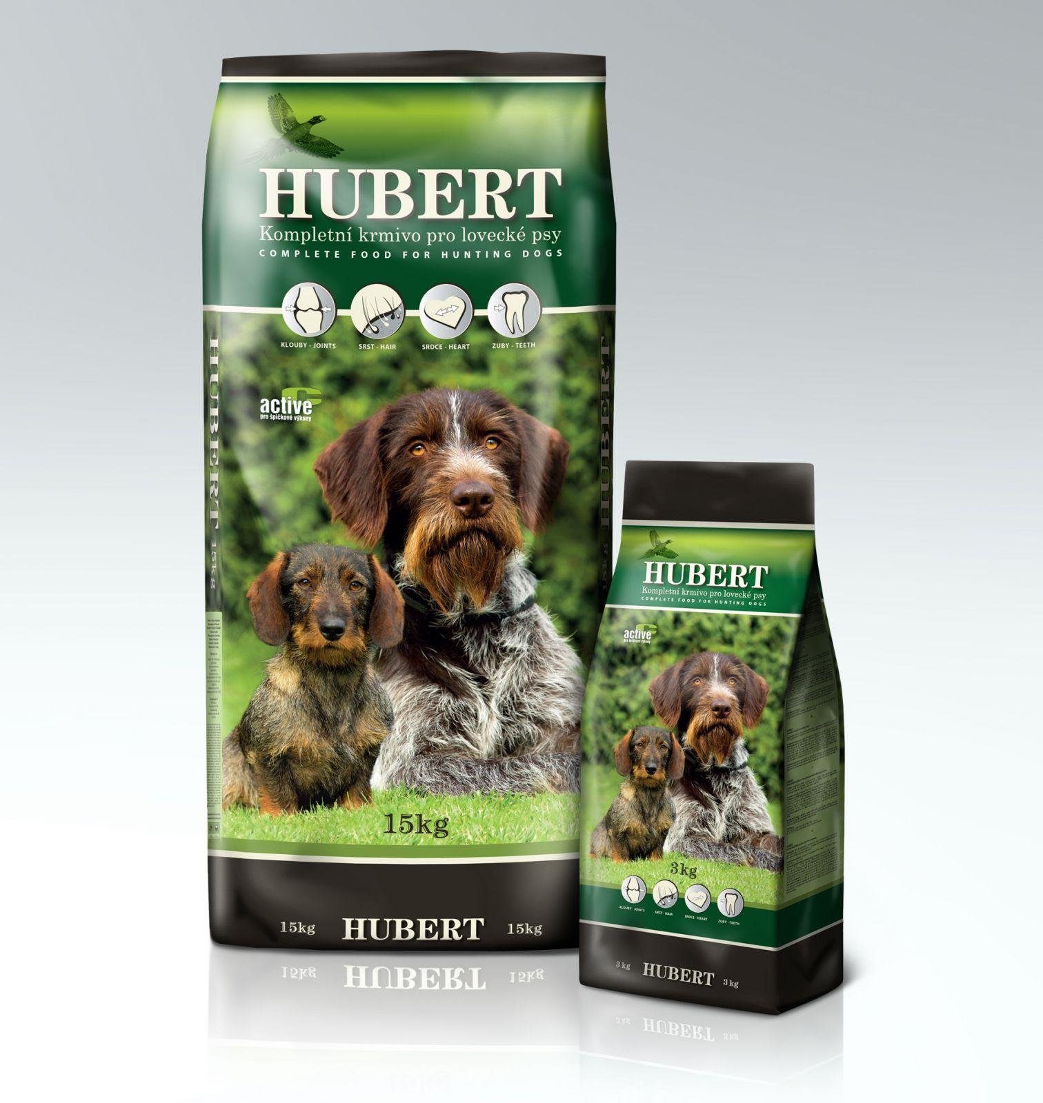 Hubert kompletní krmivo pro lovecké psy 15 kg