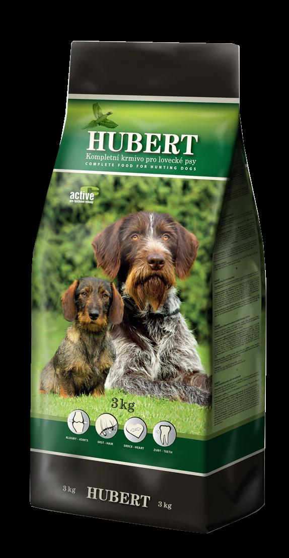 Hubert kompletní krmivo pro lovecké psy 3 kg