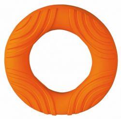 Kroužek latexový s plastickými vzory 14 cm