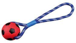 TRIXIE Vrhací míč tvrdá guma na šňůře 8cm/35 cm