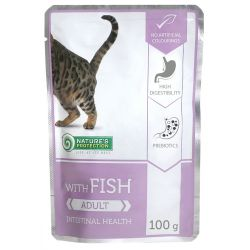 Nature's Protection Cat kapsa Adult Fish - Intestinal Health 100 g